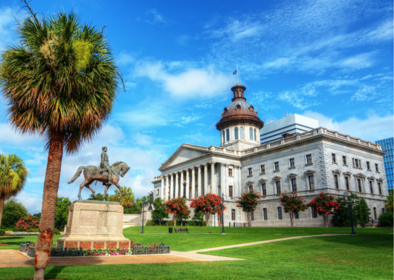 #44. South Carolina