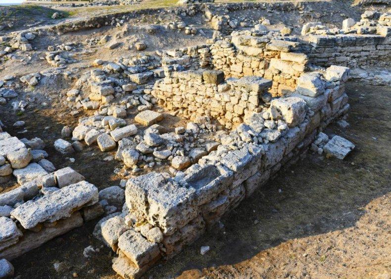 The Lost City of Tenea