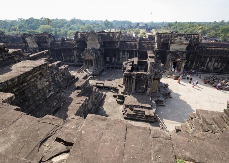 Medieval cities in Cambodia
