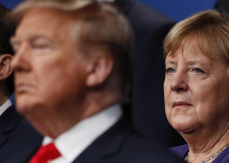 german, chancellor, merkel, donald, trump, nato