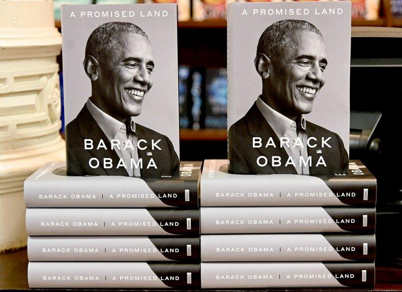 Obama Book Display