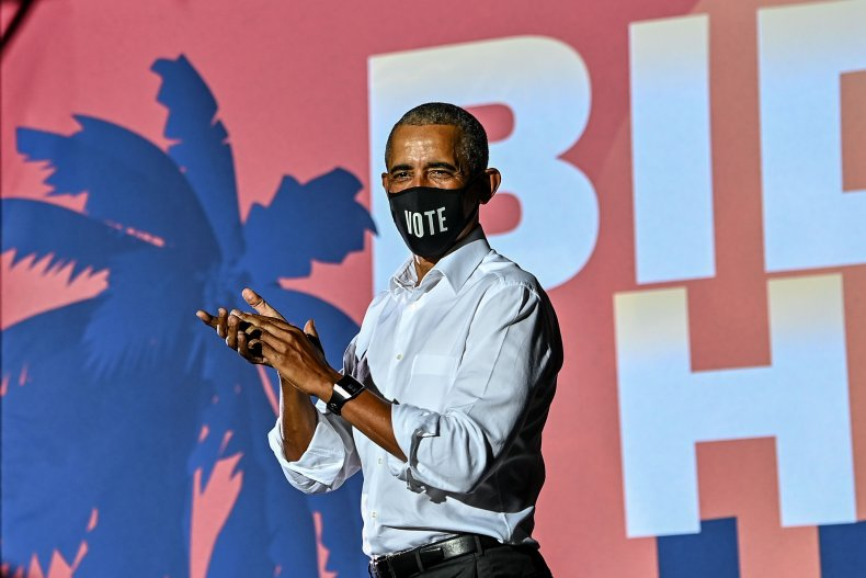 Ex-U.S. President Barack Obama