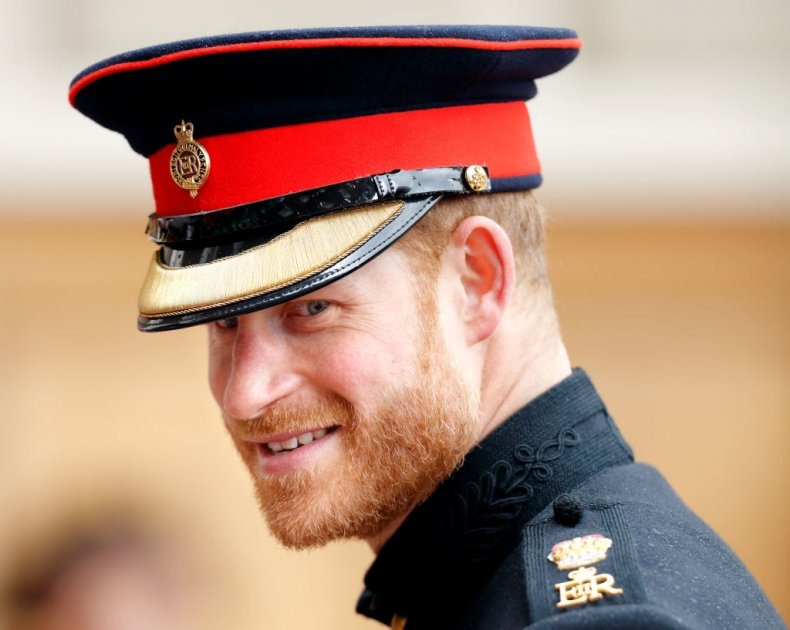 Prince Harry in Military Uniform Founder's Day