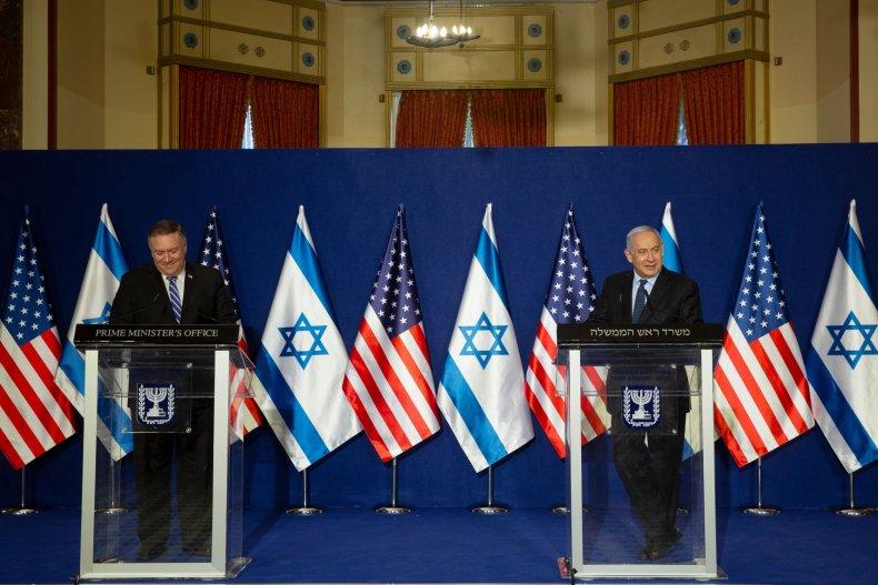 Israel, Mike Pompeo, BDS, anti-Semitism, Netanyahu, Palestine
