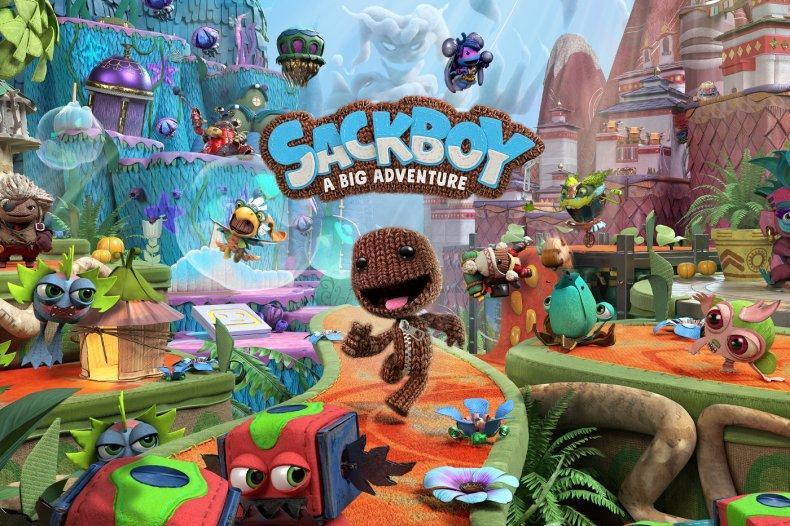 'Sackboy: A Big Adventure' Key Promo Art