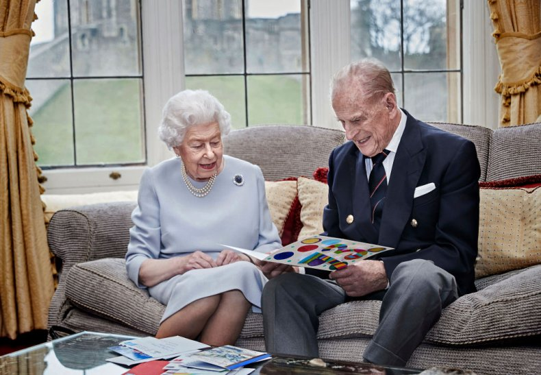 Queen Elizabeth II, Prince Philip Wedding Anniversay