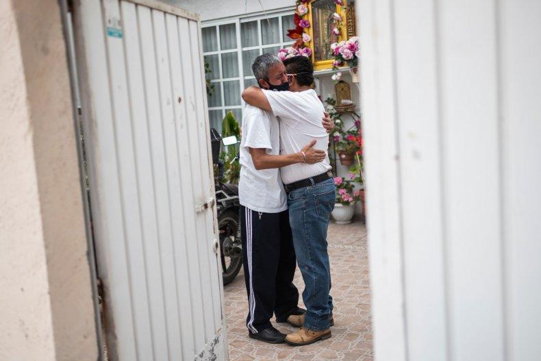 Men Embrace