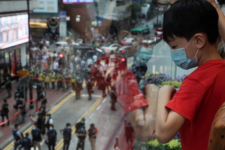 HOng Kong, China, Joe Biden, Democracy, activists