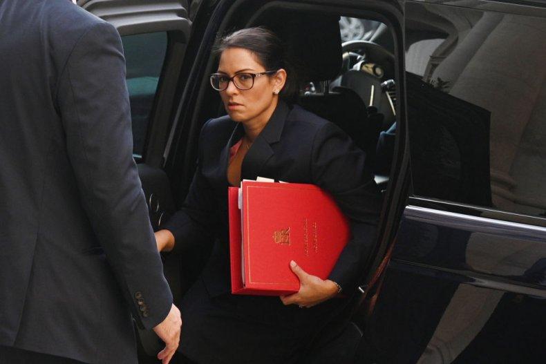 Priti Patel, Britain's Home Secretary at No10