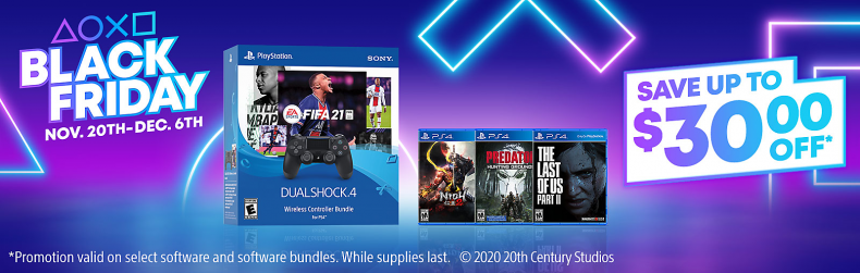 sony black friday ps4 game deals