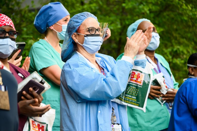 Medical staff NYU Langone Health May2020