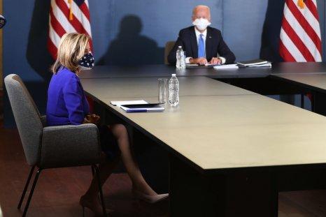 Nancy Pelosi Meets with Joe Biden