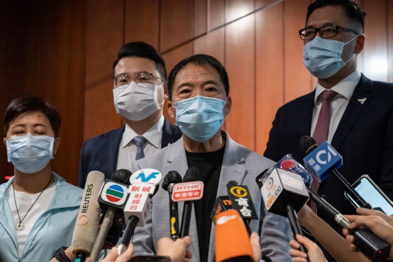 Disqualified Hong Kong Pro-Democracy Lawmakers