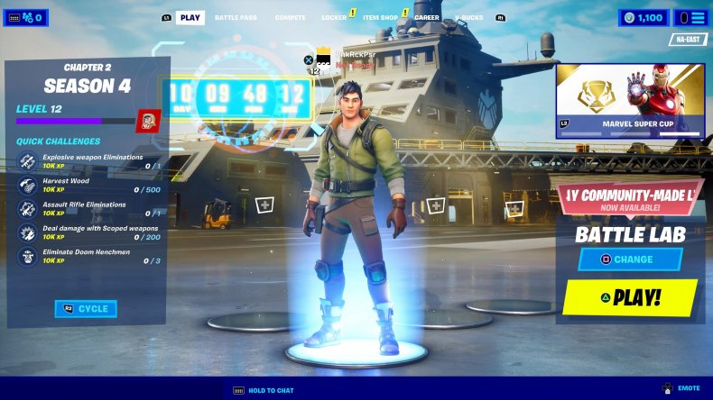 fortnite galactus event countdown lobby