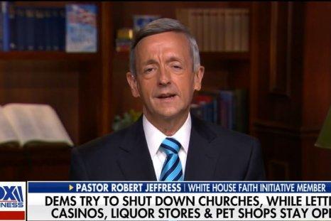 pastor robert jeffress thanksgiving restrictions