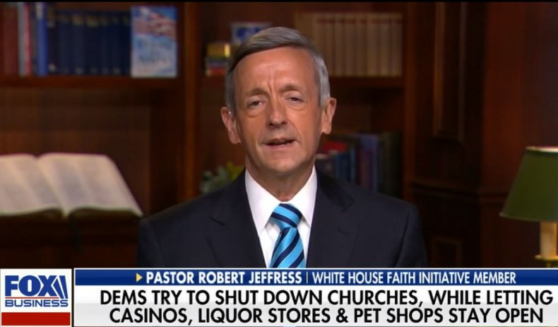 pastor robert jeffress thanksgiving restrictions