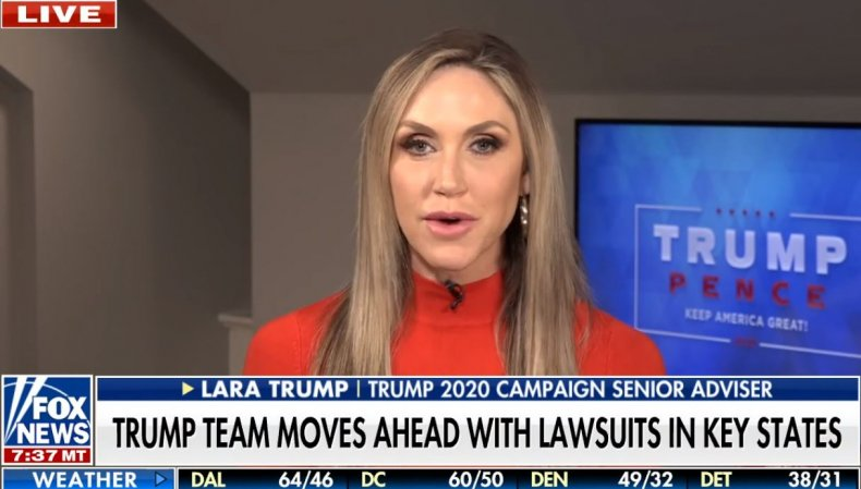 lara trump fox news election