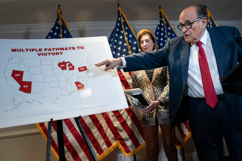 Rudy Giuliani and Sidney Powell