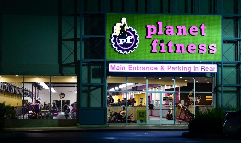 Planet Fitness, Alhambra, California June 2020