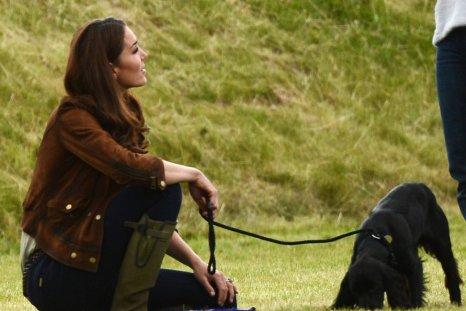 Kate Middleton and pet Dog Lupo
