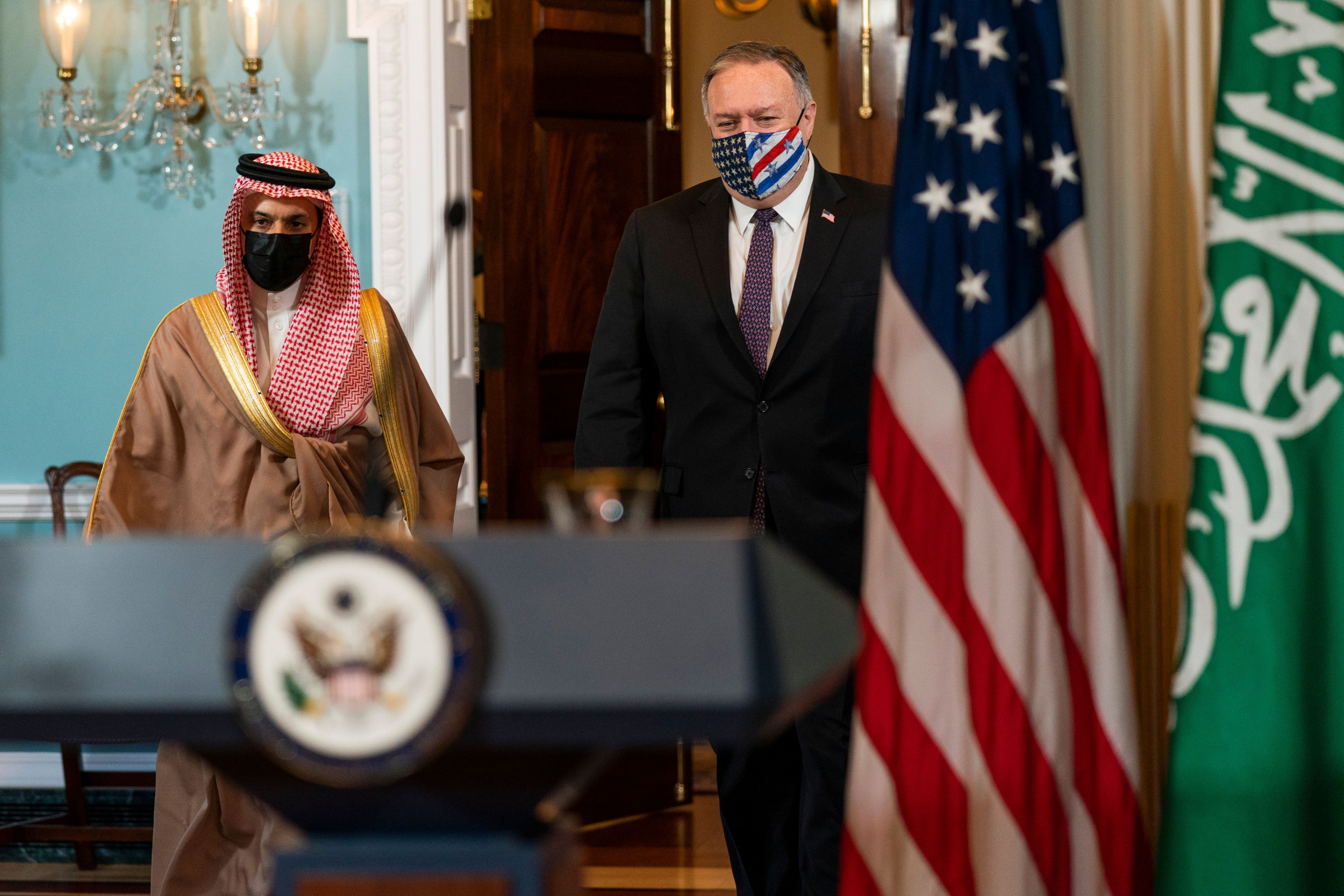 Pompeo Says Saudi Ties Are 'Strong,' but Biden Looks to Pressure Kingdom