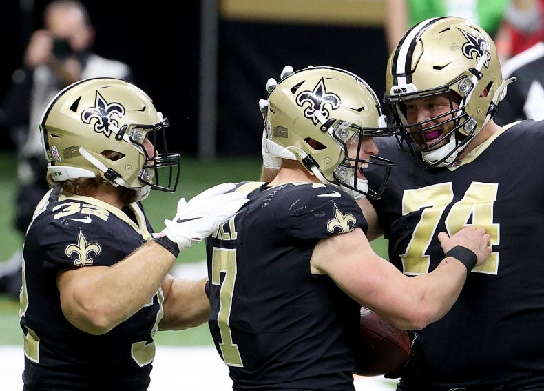 Taysom Hill, New Orleans Saints
