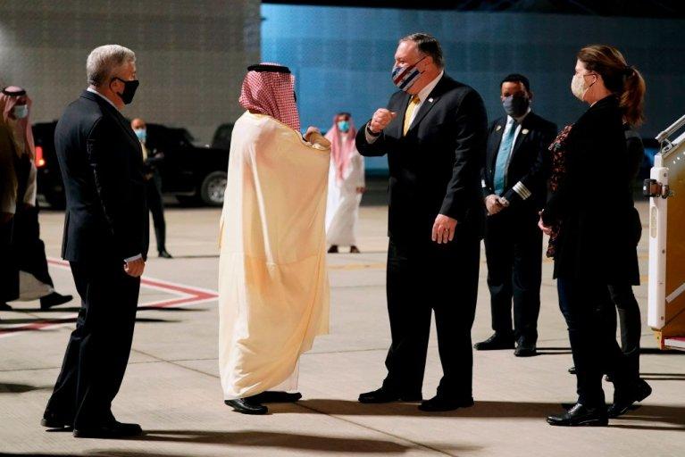 Mike Pompeo, Israel, Saudi Arabia MBS, Netanyahu