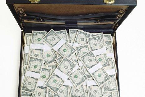 case of dollars