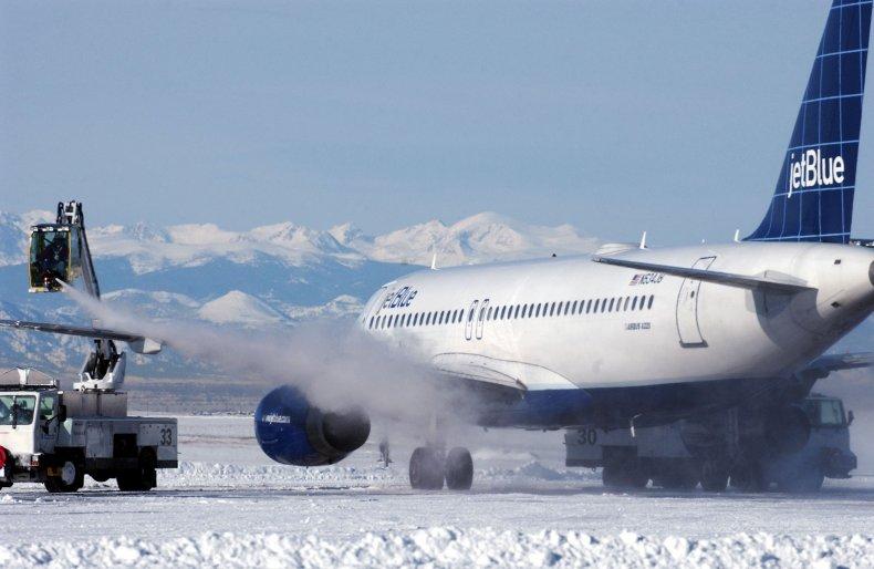 Major Blizzard Paralyzes Denver Area DENVER -