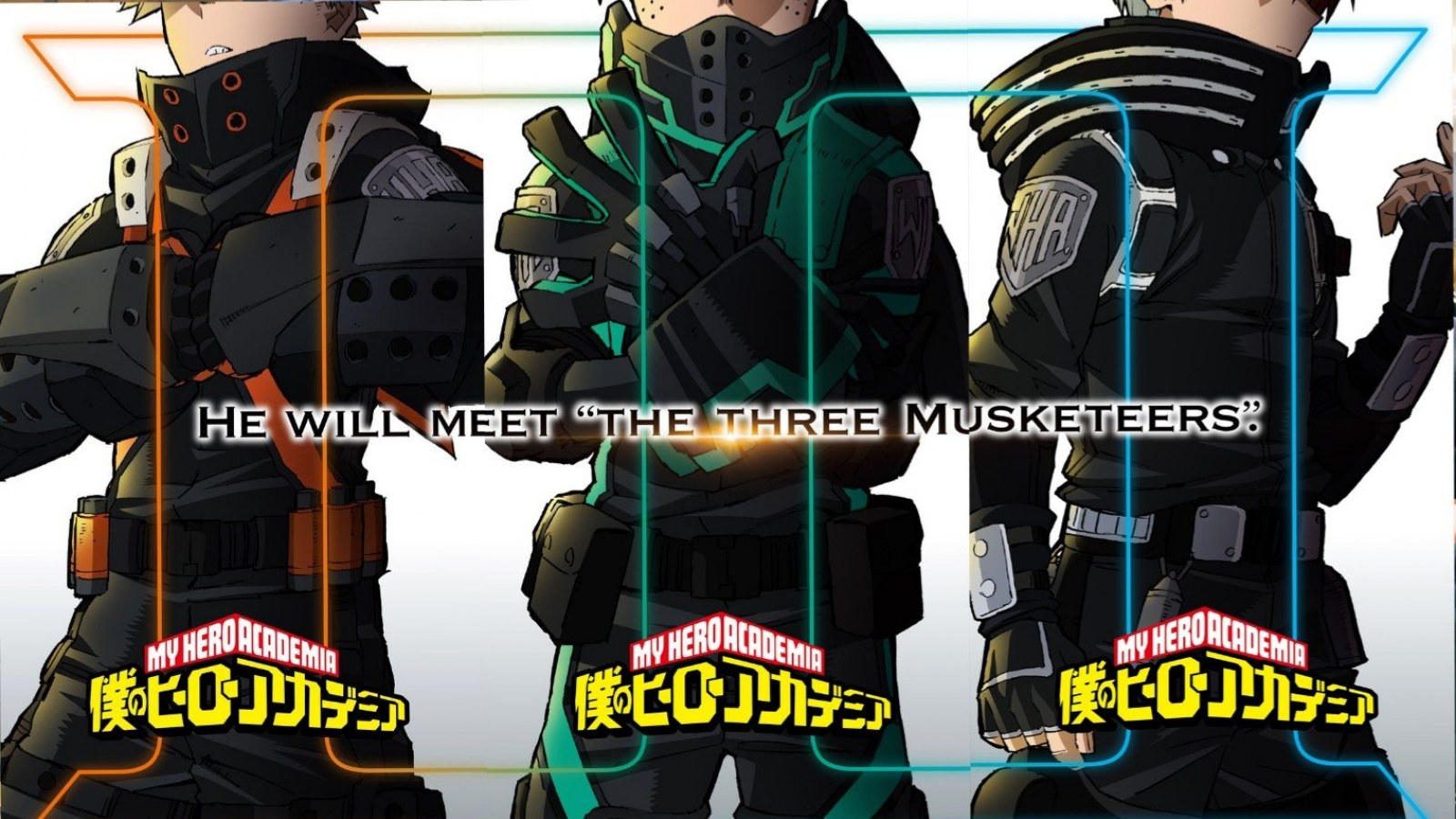Third 'My Hero Academia' Animated Movie Teased With a Nod to 'The Three  Musketeers'