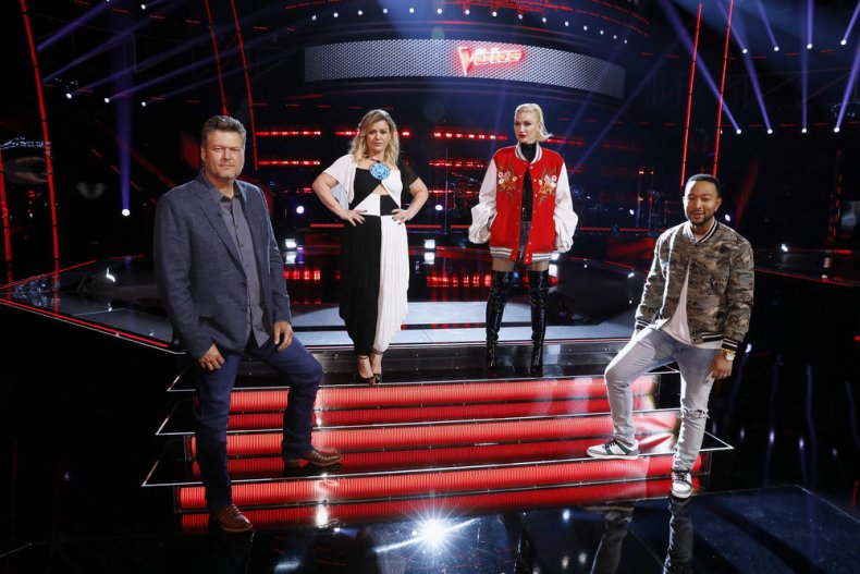 'The Voice' Coaches Pair Artists For Knockouts