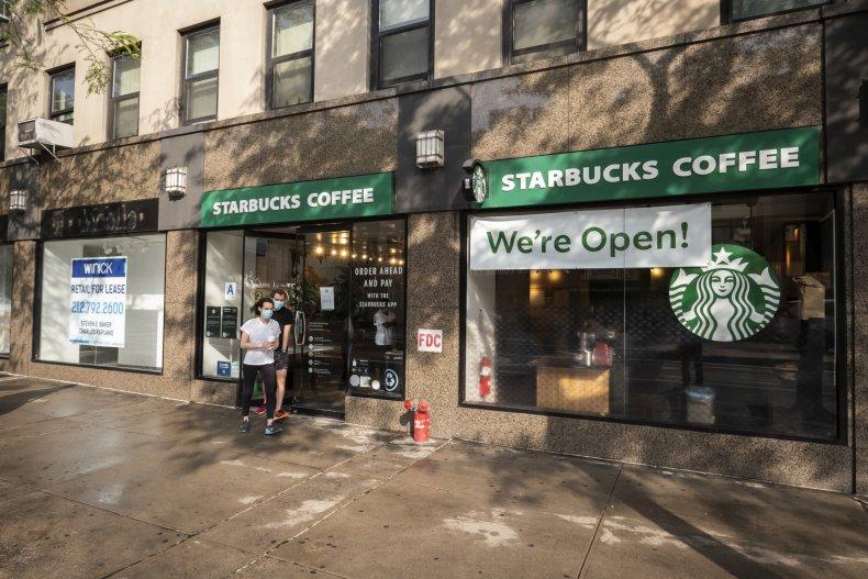 Starbucks New York City June 2020