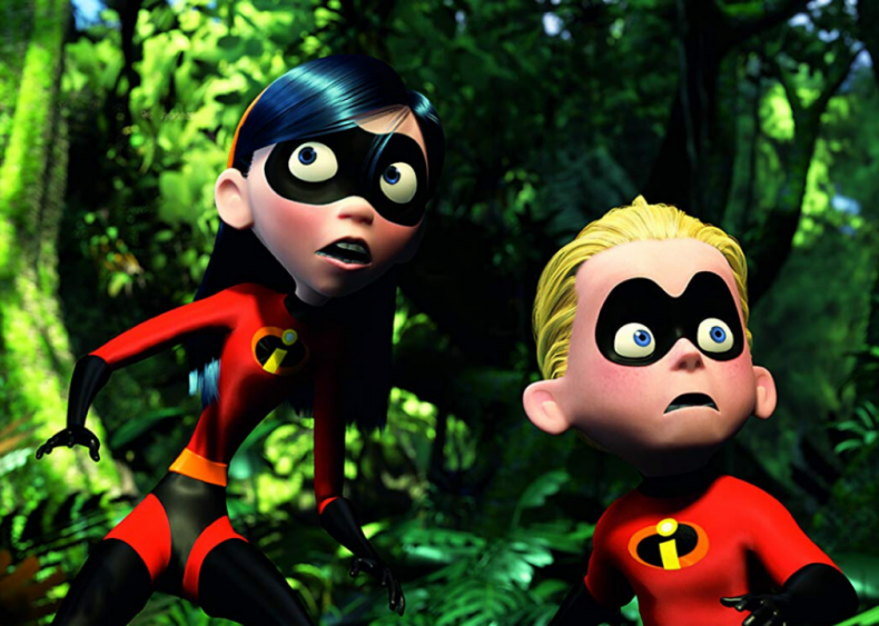 #7. The Incredibles (2004)