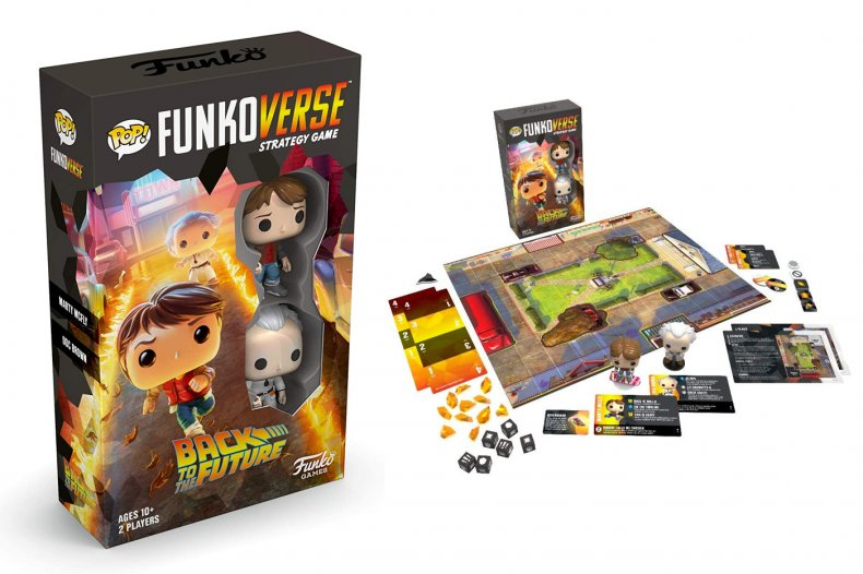 Back to the Future Gift Funkoverse Game