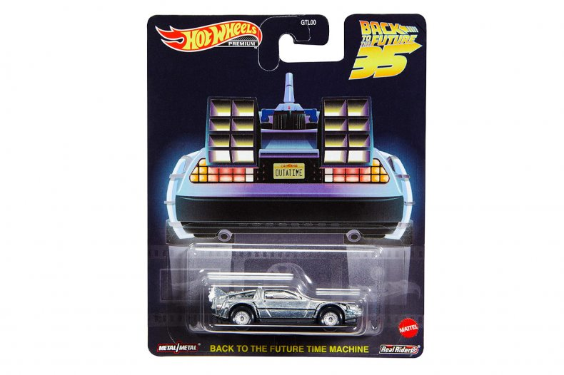 Back to the Future Gift Hot Wheels