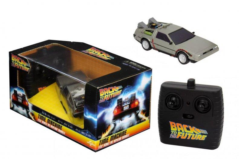 Back to the Future Gift RC DeLorean