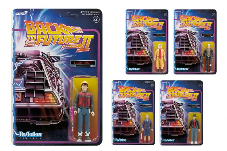 Back to the Future Gift ReAction Figures