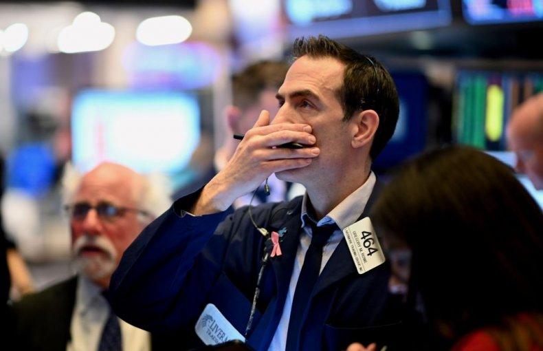 Trader at the NYSE