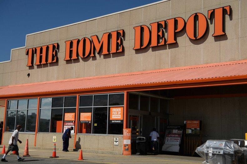 Home Depot Washington D.C. August 2020