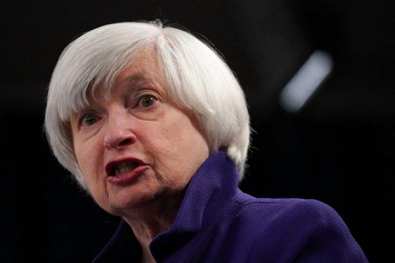 Former Fed Chair Janet Yellen