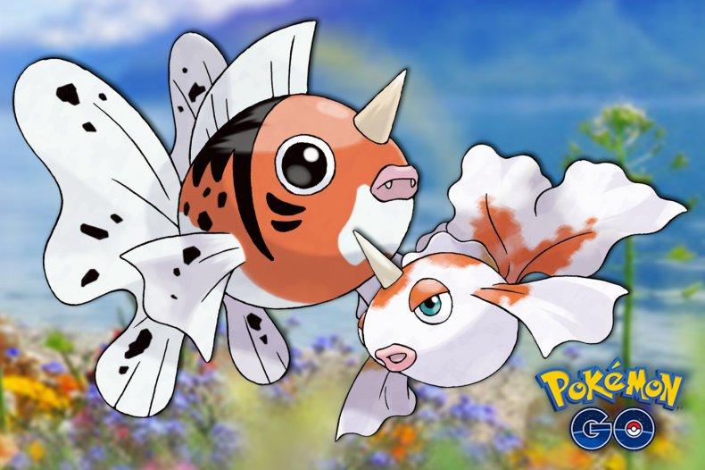 pokemon go goldeen seaking lake legends event
