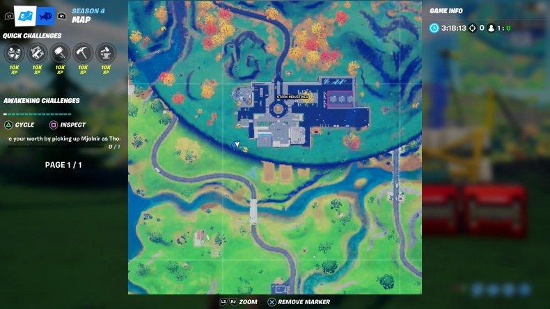 fortnite upstate new york zipline 2 map