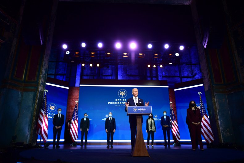 Joe Biden announces Cabinet nominees