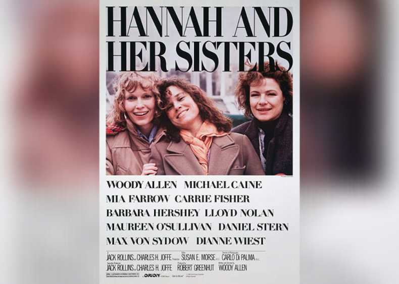 #3. Hannah and Her Sisters (1986)