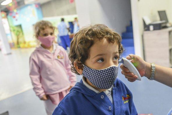 kids covid tests symptoms asymptomatic