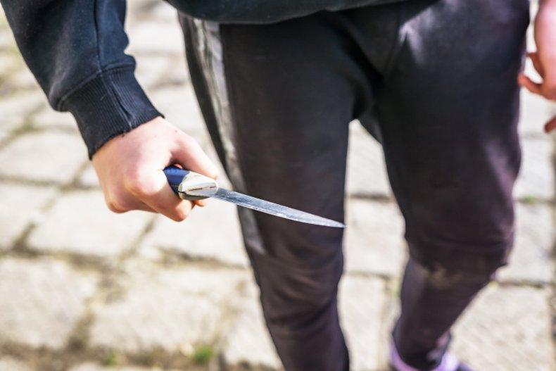 knife Cody Donner hate crime kansas white