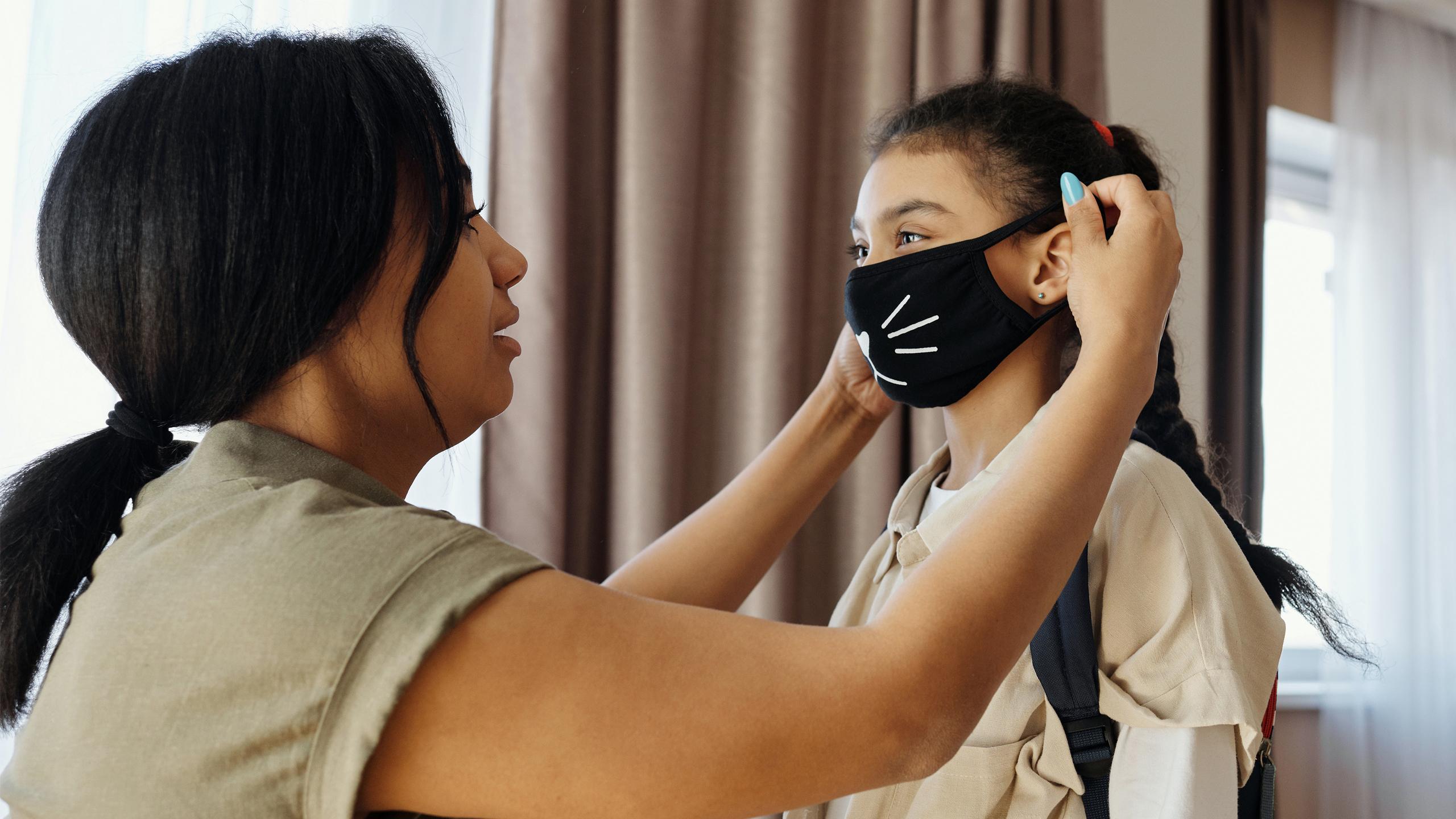 Family Kids COVID-19 Face Masks