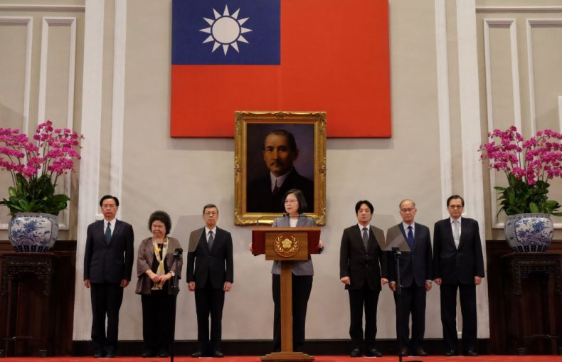 Taiwan government cabinet