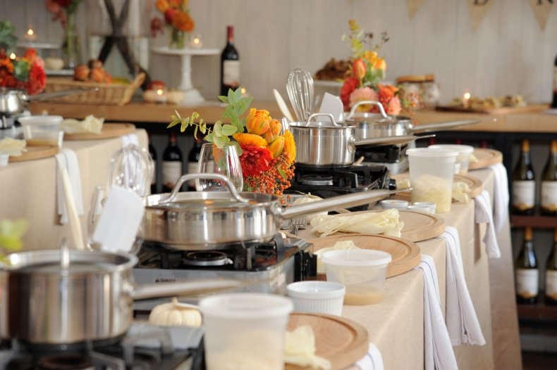 NYC Thanksgiving table cooking class 2016
