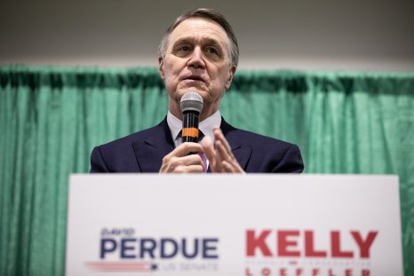 Kelly Loeffler And David Perdue Campaign For
